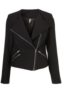 Double Zip Biker Jacket  perfect match to leather leggings