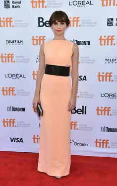 The Demure Felicity Jones - Felicity Jones in Balenciaga