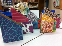 Upcycled cereal boxes now magazine holders...alsogreat for kids books, sorting mail, homework, etc.
