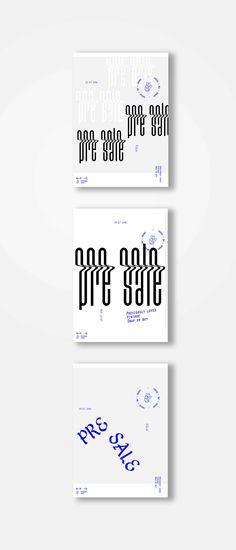 H-M-D pre sale posters on Behance