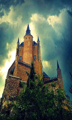 Castle Alcazar of Segovia, Spain