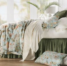 Our decorative quilted bedspreads come in a large variety of beautiful patterns & designs. From beautiful white to colorful hues. Shop Soft Surroundings online for the best in quilted bedspreads. Bedspreads Comforters, Quilted Bedspreads, Down Comforter, Comforter Sets, Paisley Sheets, Window Rods, Velvet Quilt, Quilt Bedding, Soft Surroundings