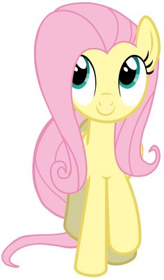 "Fluttershy Vector - Smile Parade with the Mane 6 from ""A Friend in Deed"""