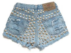 High waist shorts by deathdiscolovesyou on Etsy, $65.00