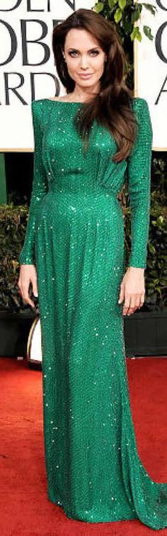 Angelina Jolie Golden Globe Awards