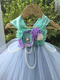 Under The Sea Mermaid Tutu Dress/ mermaid by SoCutsieTootsie