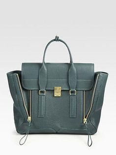 3 1 Phillip Lim Pashli Shark Embossed Large Satchel 3.1 Phillip Lim