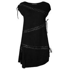 Tied Tunic Dress [B]