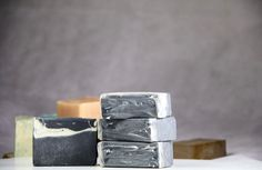 Natural Activated  Charcoal Soap. Bath Soap. Handmade by TLNATURAL