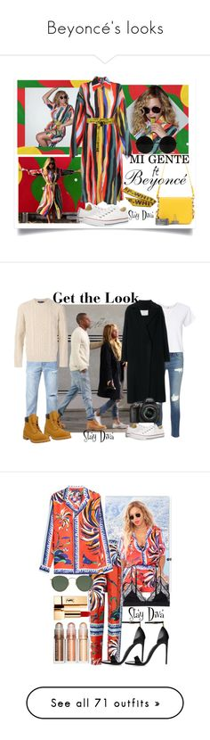 """""""Beyoncé's looks"""" by staydiva ❤ liked on Polyvore featuring Solace, Off-White, Converse, rag & bone/JEAN, Ksubi, Polo Ralph Lauren, Timberland, RE/DONE, Société Anonyme and Nikon"""