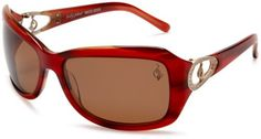 baby phat Women's 2055 Round Sunglasses,Dark Red Frame/Black Lens,one size Baby Phat. $80.01. Lens height: 43 millimeters. Arm: 125 millimeters. Lens width: 65 millimeters. Lenses are prescription ready (Rx-able). Non-Polarized. Plastic lens. 100% UV protection coating. Resin frame. Case Included. Bridge: 15 millimeters. Save 52% Off!