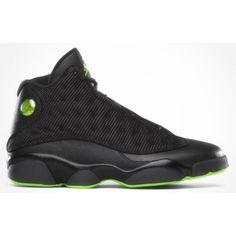 9699252cf3d1 Cheap 310004-031 Air Jordan 13 (XIII) Retro Black Altitude Green A13004 UK