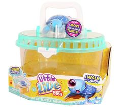 Buy Little Live Pets Swimstar Turtle Tank Playset at Argos.co.uk, visit Argos.co.uk to shop online for Animal playsets and collectables, Toys