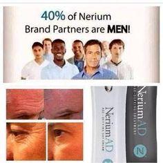En Nerium el 40% de los Brand Partners son hombres http://beautyskin1.nerium.com.mx