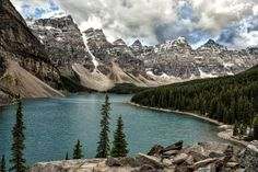 """Moraine View"" Moraine Lake, Banff National Park, Alberta, Canada...."