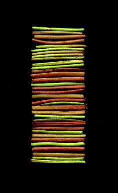 Fern stems.    Onoclea sensibilis by horticultural art, via Flickr