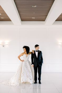 The Oscar de la Renta Fern bridal gown was the perfect look for this modern and moody editorial at Mr.C's Beverly Hills #oscardelarentabride #beverlyhillswedding Wedding Advice, Wedding Couples, Wedding Ideas, Wedding Decor, Hotel Wedding Inspiration, Edgy Wedding, Bridal Gowns, Wedding Dresses, Intimate Weddings