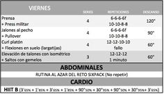 tabla de flexiones vitonica