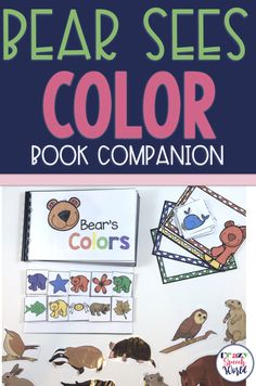 Bear Week: Book Activities & Crafts for speech therapy