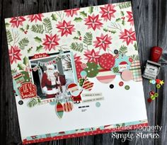 Layout featuring Oh What Fun Simple Set by design team member Jennifer Haggerty