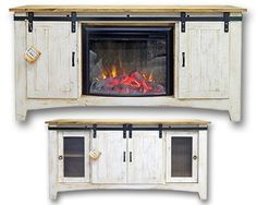 This cozy fireplace TV stand is the perfect piece to give your ...