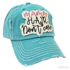 Mama Hair Don t Care Vintage Baseball Hat - Snips and Snails Boutique  Vintage Trucker a629fa468214