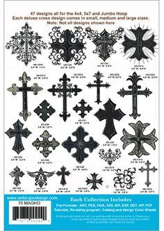 Anita Goodesign | Crosses - Anita Goodesign