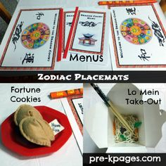 Chinese Restaurant Dramatic Play Center Food via www.pre-kpages.com