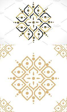 Arabic pattern. Patterns