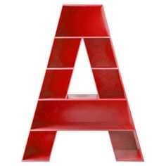 Alphabet A Bookshelf