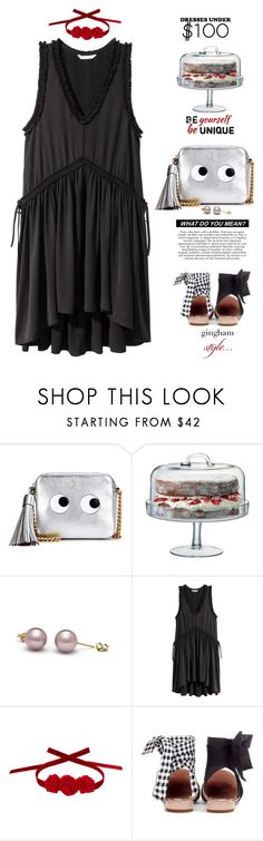 """Untitled #1890"" by elena-777s ❤ liked on Polyvore featuring Anya Hindmarch, LSA International, Vjera Vilicnik, Miu Miu, 2017 and springsummer2017"