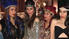 New Delhi: Bollywood actress Amrita Arora's 40th birthday celebration in Goa was one starry night. Kareena Kapoor Khan, hubby Saif Ali Khan, sister Karisma Kapoor, Malaika Arora Khan and her girl gang headed to Goa