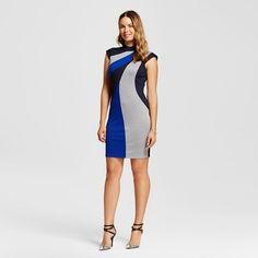3151de63b69e Women s High Neck Colorblocked Ponte Sheath Dress - Spenser Jeremy   Target  Target Dresses, Sheath