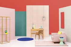 Get your funk on with BN's Stitch collection of 50's-inspired wallcoverings