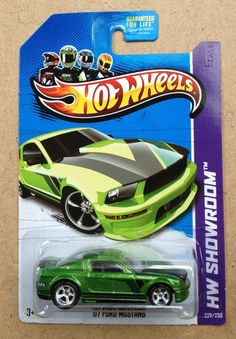 Hot Wheels 2013 Super Treasure Hunts US CARD 07 FORD MUSTANG New Release