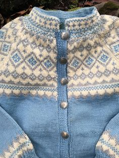 Fair Isle Norwegian wool sweater by Sundt of by VikingRaids