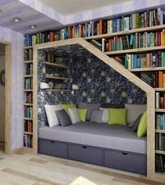 DIY Book shelf and reading nook tutorial, all materials and everything you need for under $150
