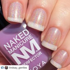 """Naked Manicure makes Holos and All Special Effects look better. #Repost @lindsay_gentles with @repostapp. ・・・ After a day of swatching, decided to keep it…"""