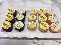 Back to school cupcakes are ready to go!