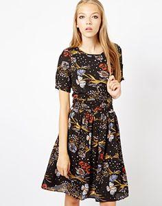 18 & East Printed Dress