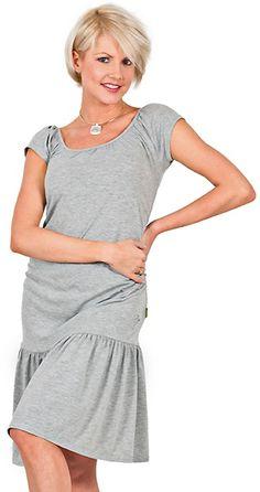 sukienka bardot 2 # xl szary