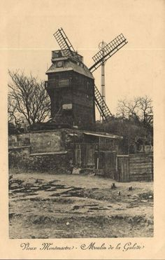 CPA Paris 18e (Dep. 75) Moulin de la Galette (82745) | eBay