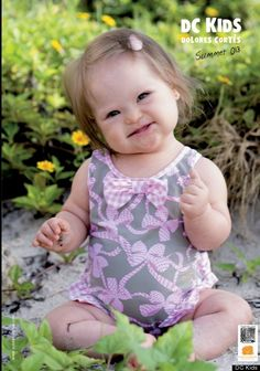 Beautiful children Down Syndrome - Baby girl with Down's syndrome turns mini model as adorable new face of children's swimwear label Beautiful Little Girls, Cute Little Baby, Baby Kind, Beautiful Children, Beautiful Babies, Little Babies, Baby Love, Cute Babies, Pretty Baby