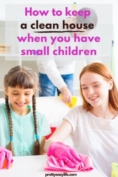 Life-Changing Tips on How to Keep a Tidy Home with Small Kids #cleaningtips Cleaning Plan, Household Cleaning Tips, House Cleaning Tips, Spring Cleaning, Cleaning Hacks, Household Organization, Home Organization Hacks, Organizing, Moving Cross Country
