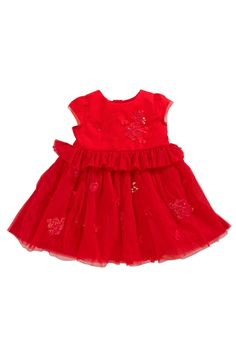 Buy Red Dress from the Next UK online shop Gowns Online, Uk Online, Girls Dresses, Summer Dresses, Christening Gowns, Next Uk, Denim, Pretty, Red