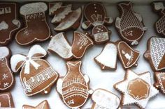 Jak upéct výborné perníčky | hned měkké | recept Gingerbread Cookies, Christmas Cookies, Biscotti, Cookie Cutters, Food And Drink, Xmas, Favorite Recipes, Sweets, Homemade