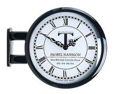 modern art design double sided wall clock station clock home decor m0604black u2022 cad