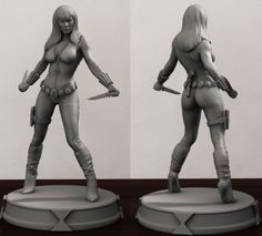 Black Widow custom sculpt