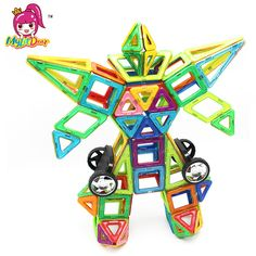 $43.28 (Buy here: https://alitems.com/g/1e8d114494ebda23ff8b16525dc3e8/?i=5&ulp=https%3A%2F%2Fwww.aliexpress.com%2Fitem%2F106PCS-Big-Size-Magnetic-Designer-Building-Blocks-Model-Building-Toys-Brick-Enlighten-Bricks-Magnetic-Toys-for%2F32783489421.html ) 106PCS Big Size Magnetic Designer Building Blocks Model & Building Toys Brick Enlighten Bricks Magnetic Toys for Children for just $43.28