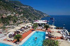 heaven — at Hotel Villa Franca Positano.